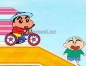 Crayon Shin Chan Promenades En Vélo en ligne bon jeu
