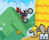 Mario Course de vélo de Montagne