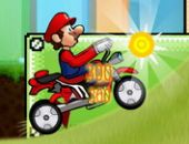 Mario La Vitesse Du Vélo en ligne jeu