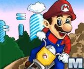Mario Moto Cascades en ligne jeu