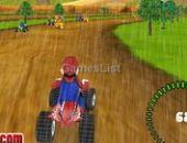 Mario Pluie Course 3