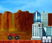 Monstres Camion Attaque en ligne bon jeu