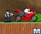 Phénomène de vitesse motard en ligne jeu