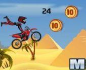 Pyramide Moto Stunts