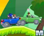 Sonic Vs Ben 10 Voitures