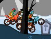Zombie La course moto en ligne bon jeu