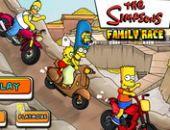 Course famille Simpson