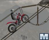 Moto De Trial Extrême