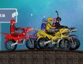 Power Rangers Course en ligne bon jeu