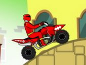 Power Rangers Dino Rouge ATV en ligne jeu