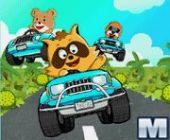 Raccoon Racing en ligne jeu