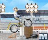 Style libre Moto coureur
